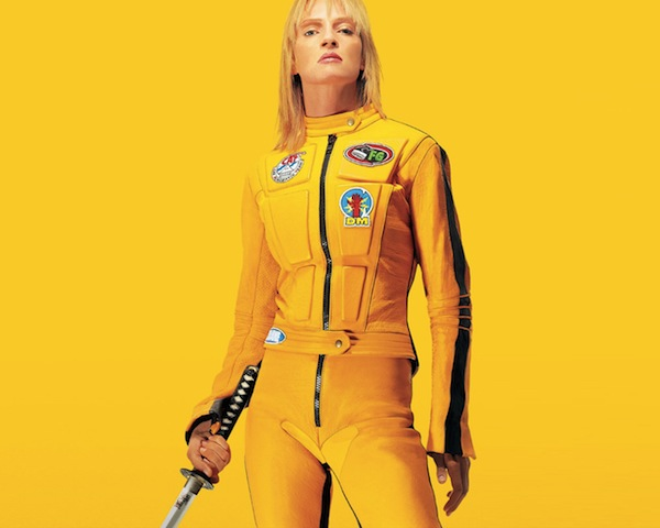 Uma Thurman fra Kill Bill