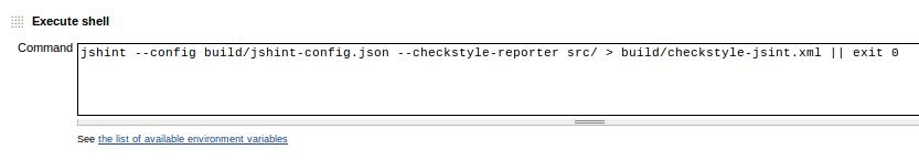 jshint-checkstyle